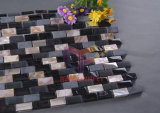 Crystal와 Stainless Steel Mosaic Tiles (CFP071)를 가진 Peral의 자연적인 Mother