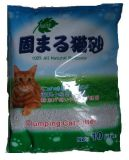 Staubfreies Bentonit, das kugelförmige Katze-Sänfte aufhäuft