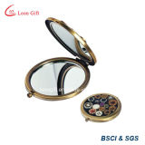 Spiegel van de Schoonheidsmiddelen van de Ijdelheid van de Make-up van het Brons van de douane de Klassieke online