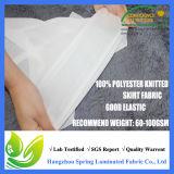 Protector impermeable de bambú suave estupendo del colchón del paño de Terry