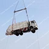 Caminhão de lixo carregado traseiro da consolidação de Sinotruk HOWO 6X4 18m3