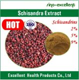 Poudre chinensis chinensis/Schisandra d'extrait de Schisandra Schisandrins/extrait de Fructus Schisandrae