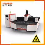 Máquina de estaca completamente fechada 500W do laser da fibra da folha de metal do aço de carbono do aço inoxidável 750W