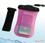 De verkopende Waterdichte Postzak voor directe bestelling van de fabriek met Armband voor iPhone 5s