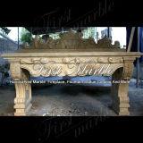 Lavabo d'or de désert pour la décoration à la maison Mbm-005