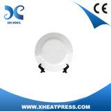 '' piatto di ceramica di sublimazione in bianco 10