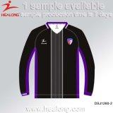 A tintura cheia Sublimated camisola ajustada do futebol do uniforme em branco barato