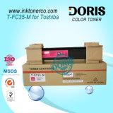 Studio 2500c 3500c 3510c del Giappone Tfc35 T-FC35 E della polvere della ricarica di colore della cartuccia di toner per Toshiba