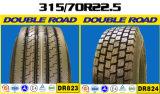 Neumático famoso 315 del camino del doble de la marca de fábrica del chino 70 22.5 385 65 22.5