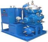 Separatore marino centrifugo dell'olio minerale dello sbarco