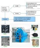 basura del convertido de la máquina del petróleo de la pirolisis 10ton al petróleo