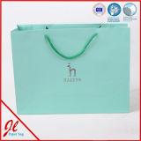 Sac de papier d'imprimerie pour les sacs de achat de métier estampés par coutume d'usine de la Chine