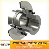 Gcld/Giiclモーターシャフト拡張タイプ曲げ歯ギヤカップリング