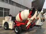 individu 1.0cbm diesel chargeant le mélangeur concret mobile de camion