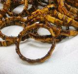 De natuurlijke Juwelen van de Armband van de Tijger van het Kristal Oog Geparelde
