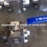 Koolstof Steel 3-Way Ball Valve (DG006BV2)