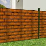 [أونيد] [450غ] [بفك] شريط مشمّع وقاية شاشة سياج لأنّ عزلة حديقة حماية