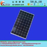 Panel 18V 145W-155W Mono solar con tolerancia positiva (2017)