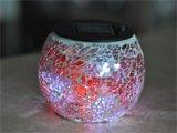 Suporte de vela de vidro S6203b do mosaico