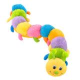귀여운 만화에 의하여 채워지는 견면 벨벳 동물 장난감 다채로운 벌레 연약한 장난감