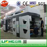 Impresora flexográfica de alta velocidad de 6 ci del color para el PE