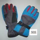 Gants faits sur commande de ski d'hiver de neige d'OEM de vente en gros