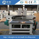 독립적인 두 배는 회전하는 나무 CNC 대패 기계를 이끈다