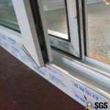 Finestra di scivolamento bianca di profilo di colore UPVC, finestra di UPVC, finestra K02079