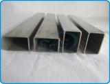 Pipes rectangulaires d'acier inoxydable pour la balustrade