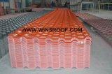Anchura española del azulejo de azotea de la patente de Winsroof 720