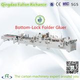 Automatic Prefold Bottom Lock Corrugated Carton Board Folding Gluing Machine