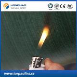Fibra de vidro de alta resistência à prova de fogo Têxtil Tarpaulin / Tarp