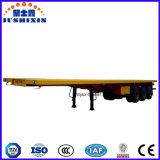 Китайский планшетный Semi трейлер, плоский контейнер следа, сваривая трейлеры трактора для сбывания