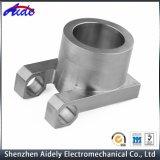 Peça feita à máquina CNC do metal para a maquinaria da carcaça