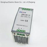 Wechselstrom Hdr-120-24 zu Gleichstrom-LÄRM Schienen-Modell-SchalterStromversorgung 88-132 VAC/176-264VAC an Gleichstrom 24V 5A