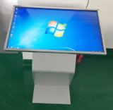 De adverterende LCD de 43-duim van de Vloer van de Vertoning Bevindende Kiosk van de Monitor van het Scherm van de Aanraking