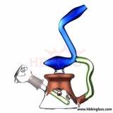 Atacado de alto nível de óleo DAB Rig Glass Water Pipe Glass Smoking Pipe em estoque