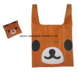 Sac pliable de client, type animal de panda, réutilisable, léger, promotion, cadeaux,