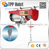 Élévateur électrique 300kg de Hgs-B de câble métallique de monorail de qualité mini à vendre