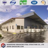 Prefab Steel Frame Warehouse with Canopy by Sinoacme