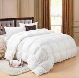 標準的な洗濯できる白いアヒルの羽毛布団のキルトの慰める人
