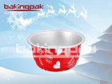 アルミホイルのクリスマスプディングのための多彩なベーキングラッパー