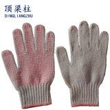 10ゲージはPVC点が付いている安全作業手袋を編んだ