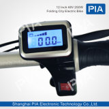 12 bici eléctrica plegable de la ciudad de la pulgada 48V 250W (THZ1-40BK)