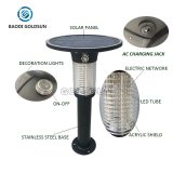 Solarharmloser LED Programmfehler Zapper der programmfehler-Licht-Zap drahtloser Solarinsekt-Mörder mit UVprogrammfehler Licht draußen für Menschen