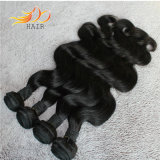 Prezzo poco costoso del Virgin dei capelli umani di colore naturale cambogiano non trattato di estensione