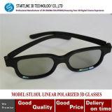 Model novo Classic Style Linear 3D Polarized Glasses para 3D Cinema