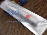 Toothbrush descartável transparente plástico do curso