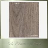 Holz Belüftung-überzogenes Farben-Edelstahl-Blatt für Decken-Dekoration