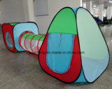 Cubby-Tube-Teepee 3PC Pop Up Play Tente pour enfants Tunnel Kids Adventure Station